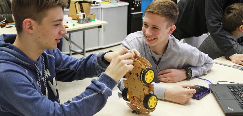 Курс робототехники для подростков